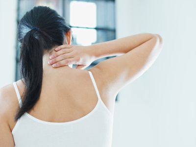Breast Reduction can help alleviate neck pain.